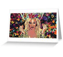 Queen B Greeting Card