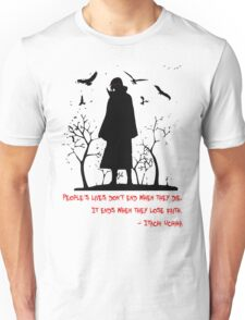 Itachi's Version of DEATH! Unisex T-Shirt