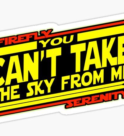 Serenity Strikes Back Sticker