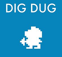 Dig Dug by WCGross