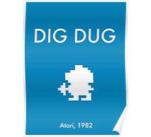 Dig Dug Poster