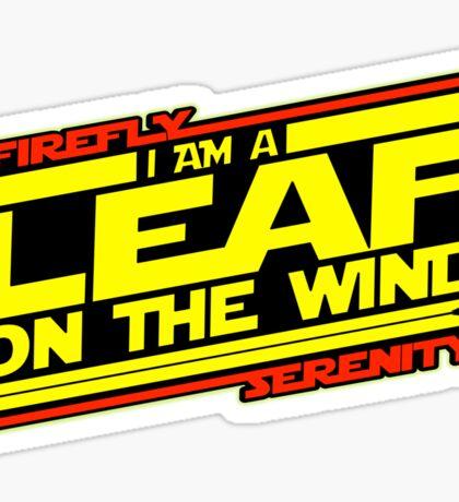 Firefly Strikes Back Sticker