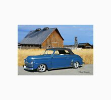 Classic Convertible and the Old Barn Unisex T-Shirt