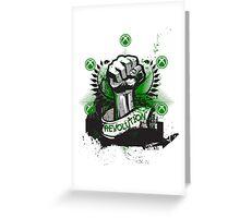 Revolution -Xbox Greeting Card