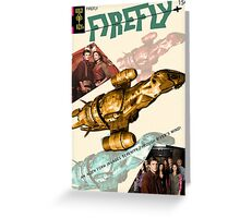 Firefly Vintage Comics Cover (Serenity) Greeting Card