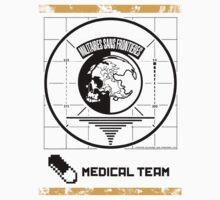 Metal Gear Solid MSF Medical Team Shirt by Tgarncarz