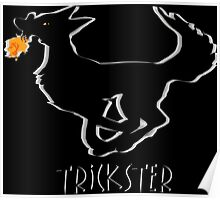 Trickster Coyote Steals Fire Poster