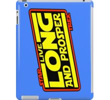 Live Long & Prosper Strikes Back iPad Case/Skin