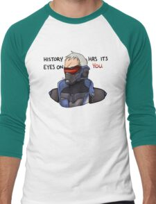OVERWATCH Soldier 76 - History Has Its Eyes On You Men's Baseball ¾ T-Shirt