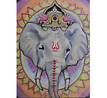 Psychedelephant Photographic Print