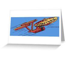 Vintage Enterprise Artwork (c. 1975) Greeting Card