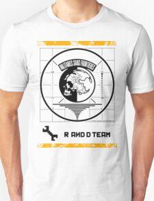 Metal Gear Solid MSF R&D Team Shirt Unisex T-Shirt
