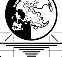 Metal Gear Solid MSF R&D Team Shirt Sticker