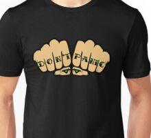 Don't Panic Fist Tattoos Unisex T-Shirt