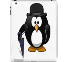 umbrella penguin iPad Case/Skin