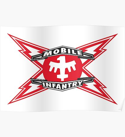 MOBILE INFANTRY Poster