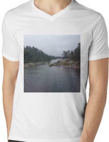 Muskoka Mens V-Neck T-Shirt