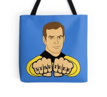 Star Trek Fist Tattoos Tote Bag