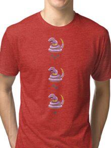 Pokemon Go - Ekans Nearby  Tri-blend T-Shirt