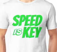 SPEED IS KEY Unisex T-Shirt
