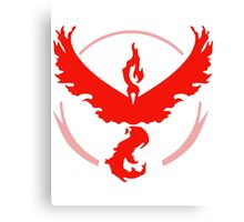 Team Valor - Pokemon Go Canvas Print