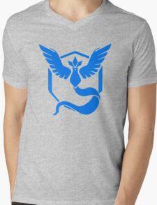 Team Mystic - Pokemon Go Mens V-Neck T-Shirt