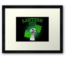Lantern Gym Framed Print