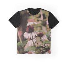 Purple Garden Delight Graphic T-Shirt