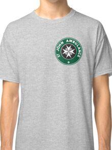 TARDIS St. John Ambulance Starbucks Logo Classic T-Shirt
