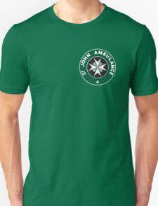 TARDIS St. John Ambulance Starbucks Logo Unisex T-Shirt