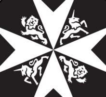 TARDIS St. John Ambulance Starbucks Logo Sticker