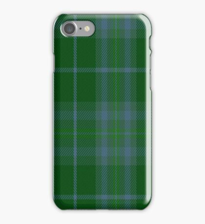 02166 Valley of the Green #1 Fashion Tartan  iPhone Case/Skin