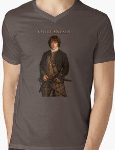 Outlander/Jamie Fraser Mens V-Neck T-Shirt