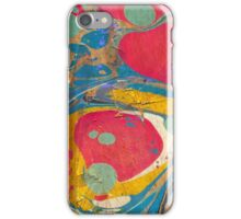 Abstract Painting ; Saturn iPhone Case/Skin