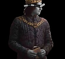 Richard iii - Uneasy lies the head that wears the crown by diggorypuff