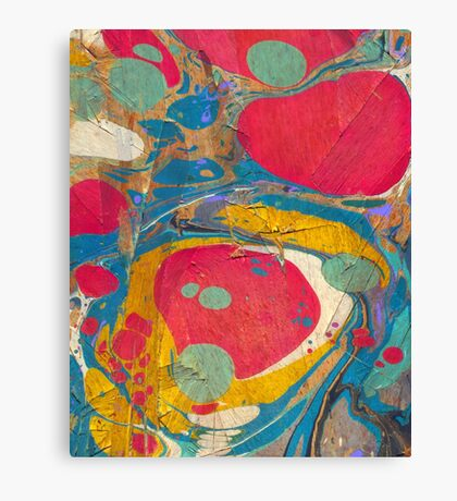 Abstract Painting ; Saturn Canvas Print