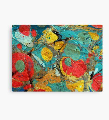 Abstract Painting ; Canyon Canvas Print
