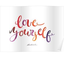 Love Yourself  Poster