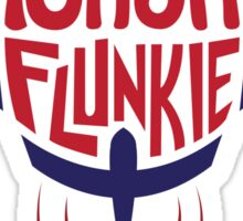 Nasa Flunkie Sticker