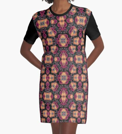Jellyfish, Night Graphic T-Shirt Dress