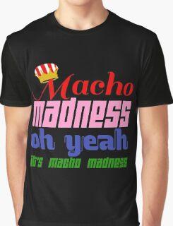 Macho Madness (Mario Colors Edition!) Graphic T-Shirt