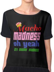 Macho Madness (Mario Colors Edition!) Chiffon Top