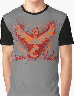 Go! Team Valor (Text)! Graphic T-Shirt