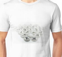 Handmade Runes © Vicki FerrarI Unisex T-Shirt
