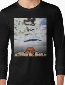 Dome Sculpture @ Sculptures By The Sea 2012 Long Sleeve T-Shirt
