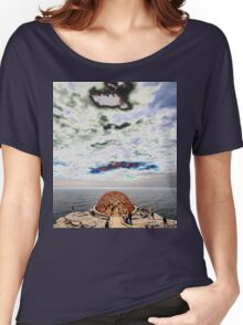 Dome Sculpture @ Sculptures By The Sea 2012 Women's Relaxed Fit T-Shirt