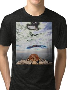 Dome Sculpture @ Sculptures By The Sea 2012 Tri-blend T-Shirt