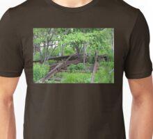 Leftover Rails Along the High Line Unisex T-Shirt