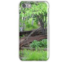 Leftover Rails Along the High Line iPhone Case/Skin