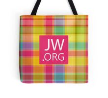 JW.ORG (Colorful pattern) Tote Bag